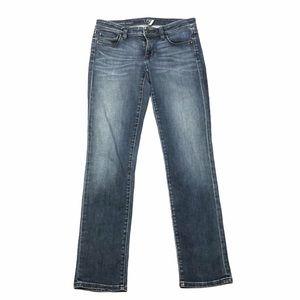 Ann Taylor Loft Modern Straight Denim Jeans - SZ 4